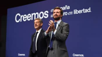 """Casado defiende la invitación a Sarkozy pese a su condena por corrupción: """"Nos ayudó a acabar con ETA"""""""