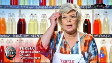 Terelu cocina sus propias gafas en la noche de 'Master Chef '