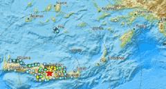 Muere una persona tras derrumbarse una iglesia por el terremoto de magnitud 5,8 en la isla griega de Creta