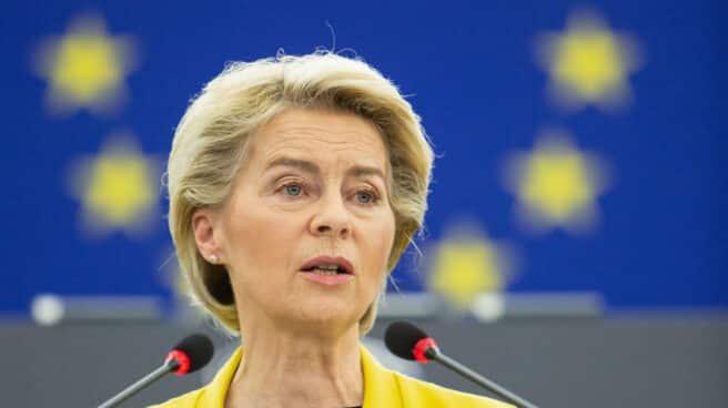 La presidenta del Comisión Europeo, Ursula Von der Leyen
