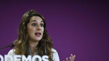 Noelia Vera dimite como secretaria de Estado de Igualdad y deja sus cargos en Podemos