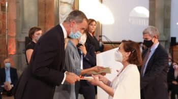 Victoria Prego recibe el Premio Nacional de Televisión 2018