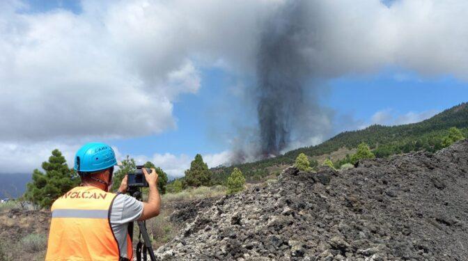Las imágenes del histórico volcán de La Palma