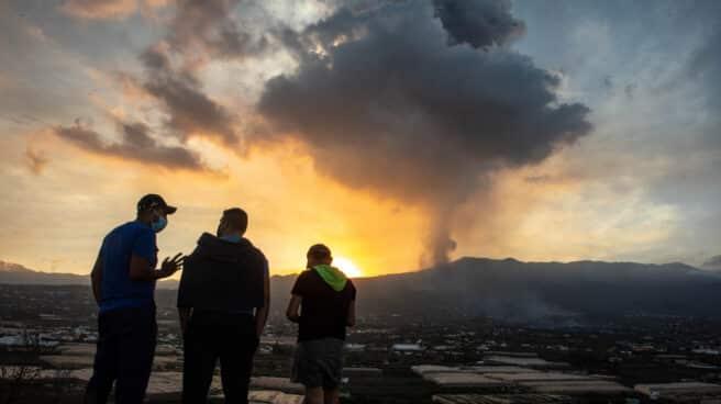 El volcán de 'Cumbre Vieja', a 23 de septiembre de 2021.