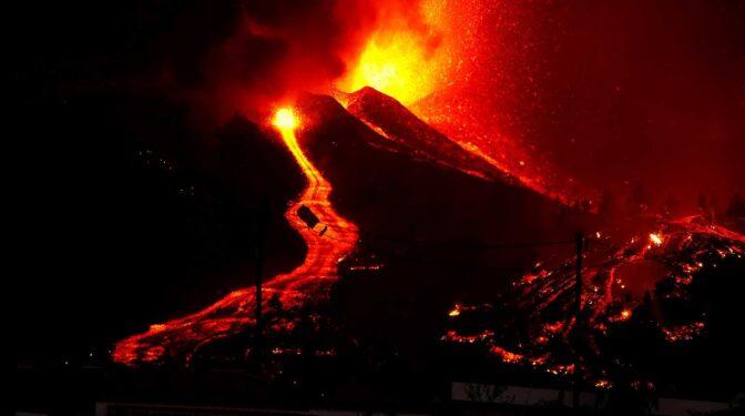 La erupción del volcán de La Palma, en un espectacular 'time-lapse'