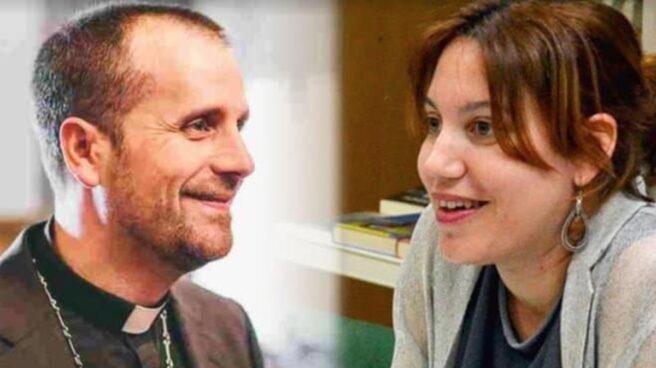 El exobispo Xavier Novell y su nueva novia, Silvia Caballol