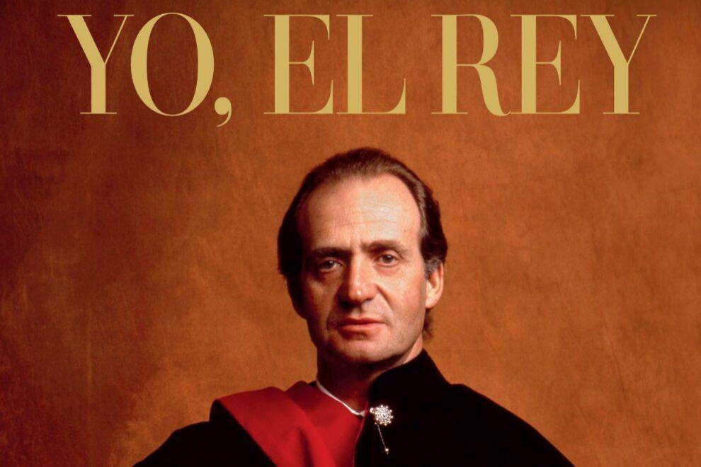 Portada del libro de Pilar Eyre, 'Yo, el Rey'