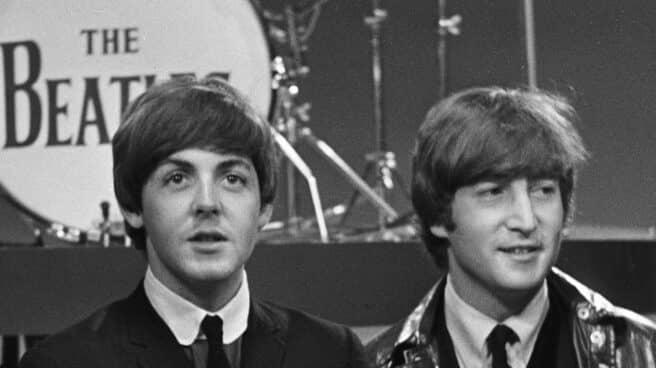 John Lennon y Paul McCartney, 1964