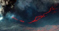 La lava ocupa una superficie de 732 hectáreas, 52 más en 24 horas