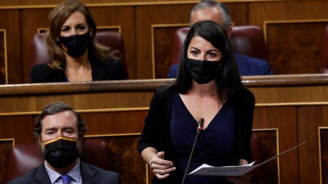 La diputada de Vox Macarena Olona.