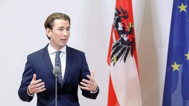 El canciller austriaco, el conservador Sebastian Kurz