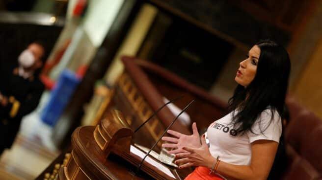 Carla Toscano, diputada de Vox.