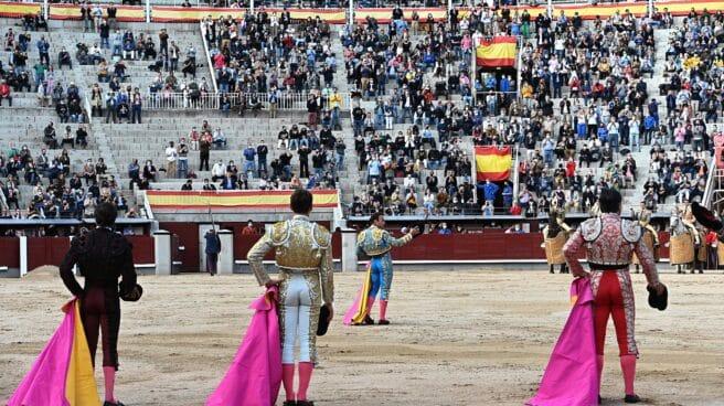 Antonio Ferrera y su cuadrilla, en Las Ventas.