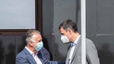 Sánchez anuncia 200 millones de euros más para la reconstrucción de La Palma