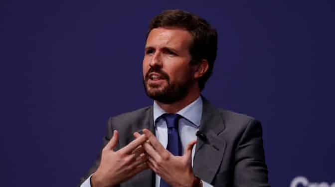 """Casado evita respaldar a Ayuso en la carrera por el PP de Madrid y reitera: """"Eligen los militantes"""""""