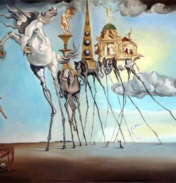'Animal de Fondo y Formas': lo que une a Picasso, Dalí, Caprile y Alejandro Sanz