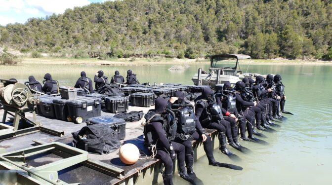 Jornada trágica para el Ejército: mueren dos soldados en prácticas de buceo en Huesca y Cartagena