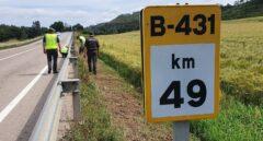 Muere un motorista al chocar contra un coche en la B-431 en Avinyó