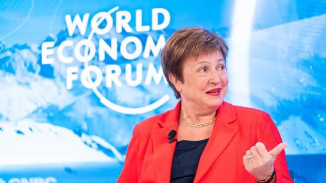 Kristalina Georgieva, directora del Fondo Monetario Internacional