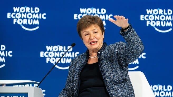 La directora general del Fondo Monetario Internacional (FMI), Kristalina Georgieva, en enero de 2020.