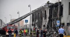 Al menos ocho muertos al estrellarse una avioneta contra un edificio cerca de Milán