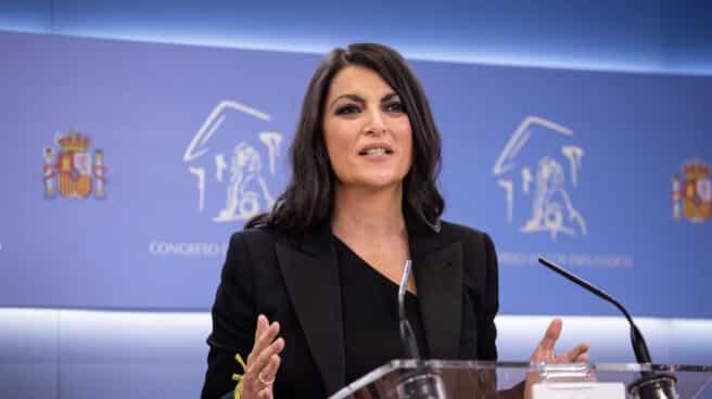 La secretaria general del Grupo de Vox en el Congreso, Macarena Olona.