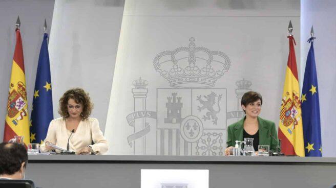 María Jesús Montero e Isabel Rodríguez.