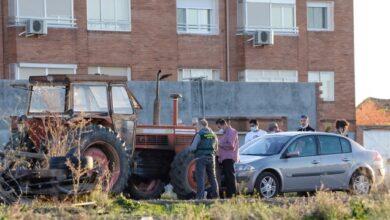 Muere una niña de cinco años al ser atropellada por un tractor en Tordesillas