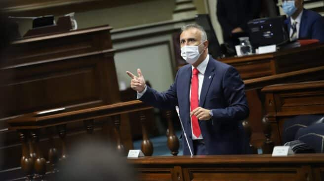 Ángel Víctor Torres Pérez, presidente de Canarias