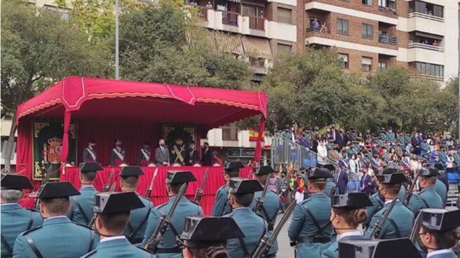 Fernando Grande-Marlaska en el acto de la Guardia Civil en Córdoba