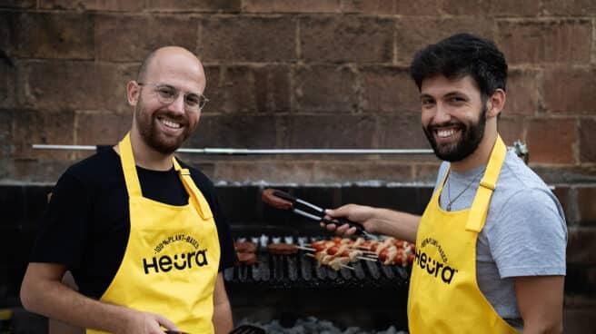 Marc Coloma (i) y Bernat Añaños (d), fundadores de Heura