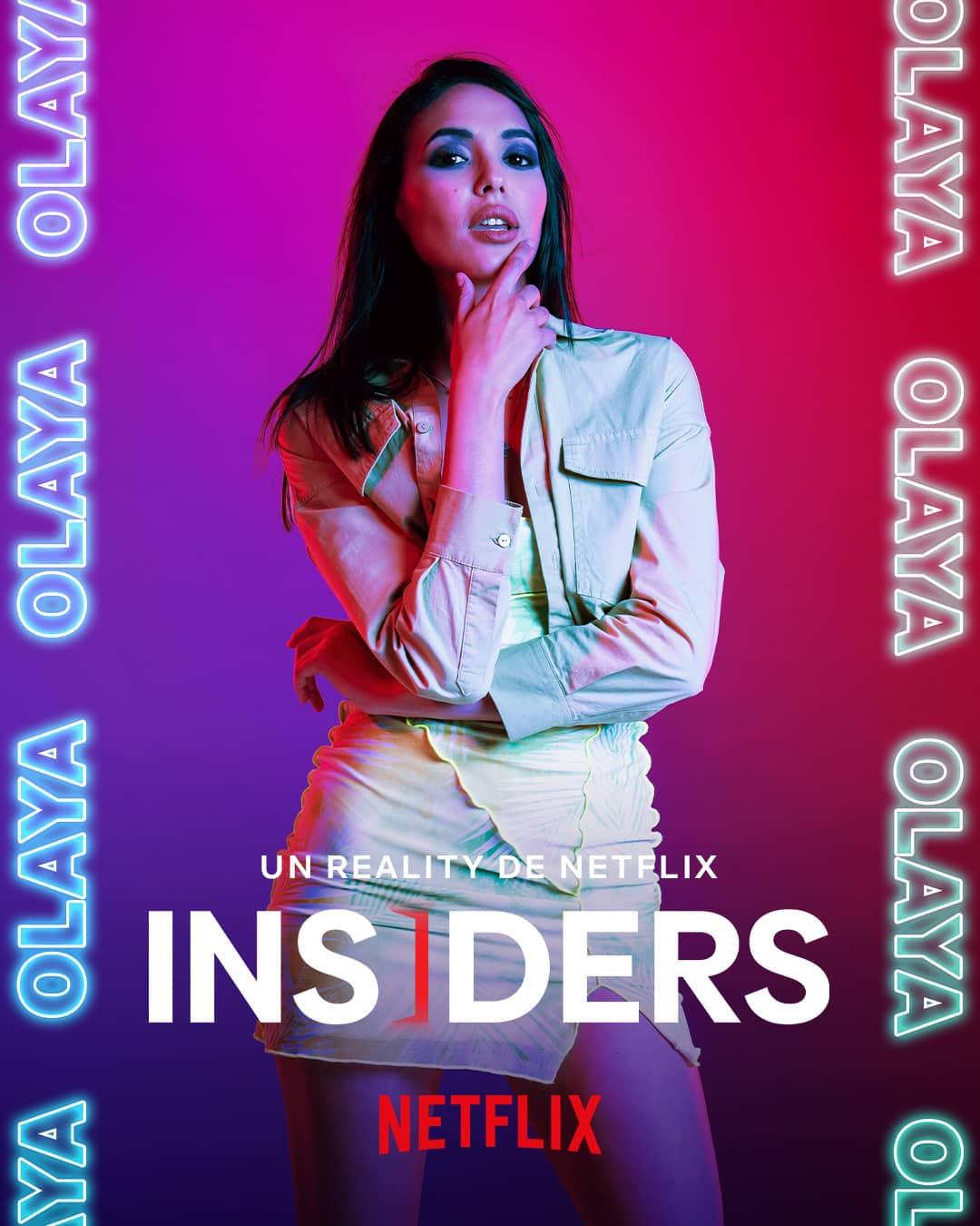 Olaya (21), 'Insiders'
