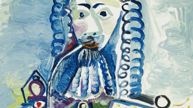 Christie's subasta en Nueva York el cuadro 'Mosquetero con pipa II' de Pablo Picasso.