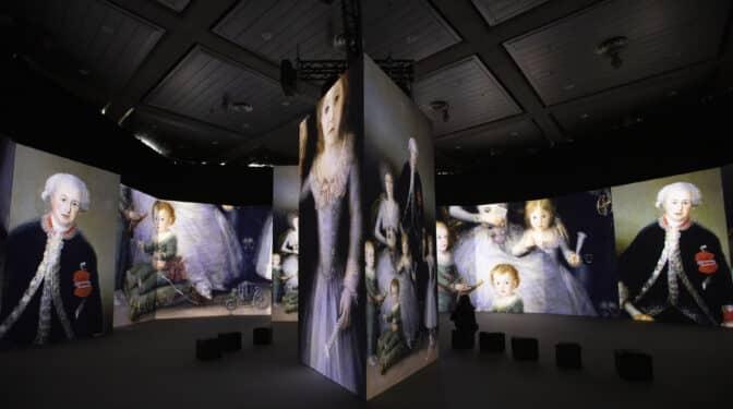 '#InGoya', donde arte y tecnología te convierten en una pincelada de 'La maja desnuda'