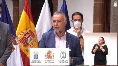 El Gobierno de Canarias moviliza unos 40 millones de euros para hacer frente a la emergencia volcánica
