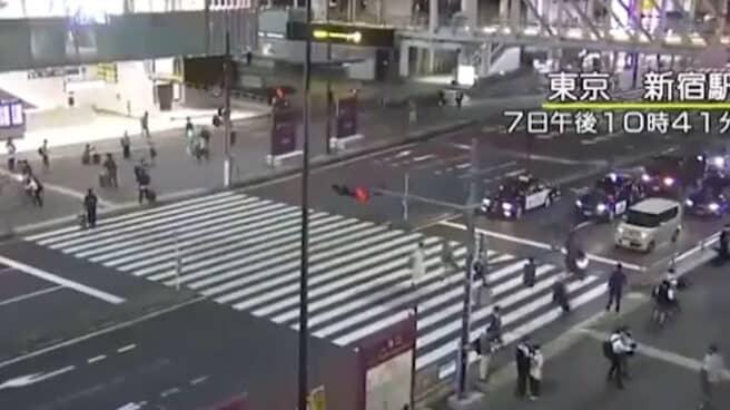 Un terremoto de magnitud 5,9 ha sacudido el centro de Tokio