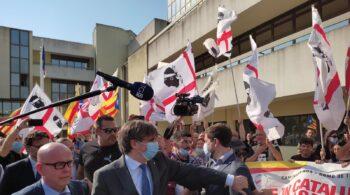 "Puigdemont: ""Ha llegado el momento de decir basta a España"""