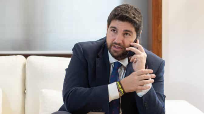 """López Miras: """"El PP ha sido grande cuando los más conservadores también se han sentido cómodos"""""""