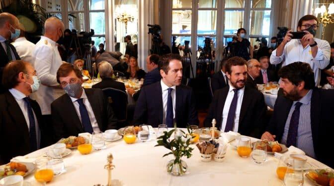 La cena de 'conciliación' del PP de Madrid