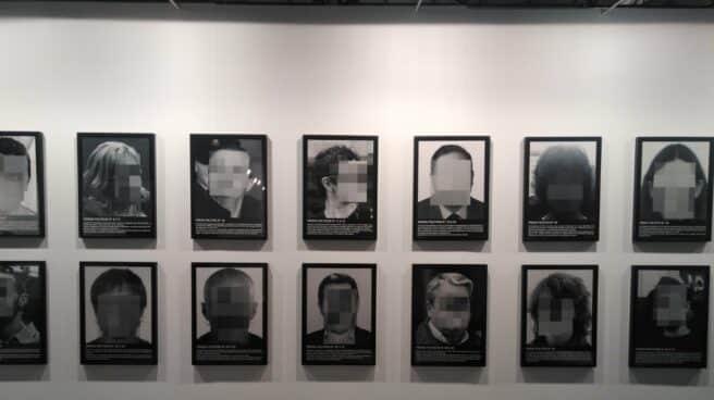 Exposición sobre los 'presos políticos' retirada por Arco en 2018.