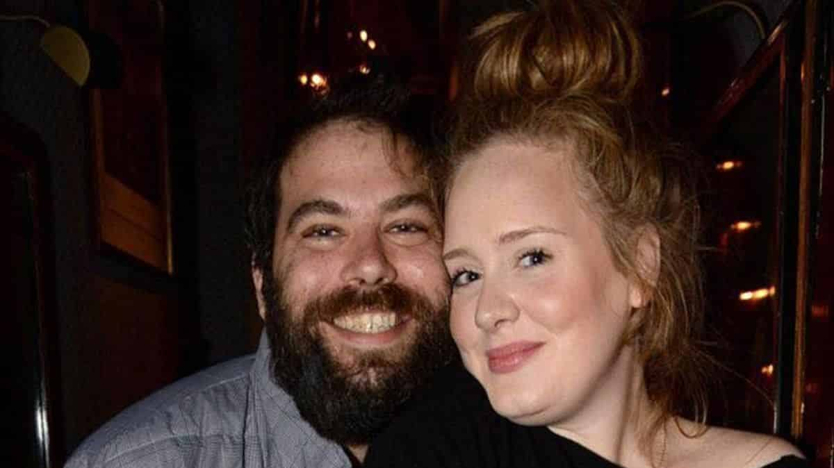 Adele y Simon Konecki, su marido