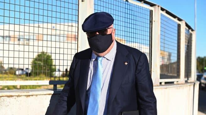 José Manuel Villarejo llega a la Audiencia Nacional.