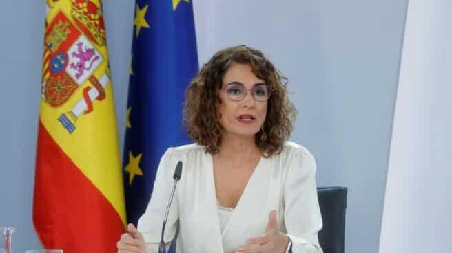 María Jesús Montero presenta los Presupuestos.