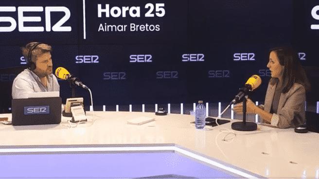 Aimar Bretos y Ione Berlarra en 'Hora 25' de la Cadena SER
