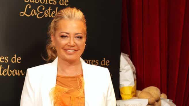 Belén Esteban ha presentado a la prensa sus nuevos productos de 'Los sabores de la Esteban'
