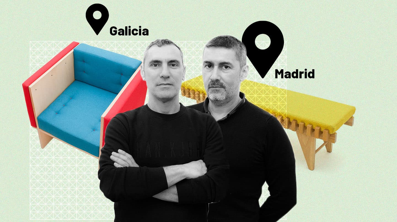 De la calle Pelayo a una aldea gallega: así es la historia del dúo 'BRUT'