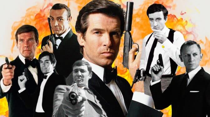 Los siete 007: entre un 'chuloplaya', un chico Playboy y un 'moñas'