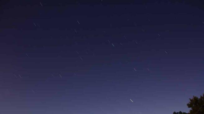 Imagen de lluvia de estrellas