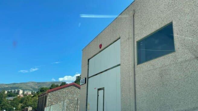 Imagen de la fábrica de Mascarillas Béjar en Béjar (Salamanca).