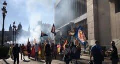 Barcelona denuncia la manifestación ultra del 12-O por enaltecimiento nazismo